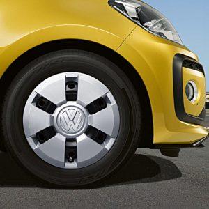 VW Up! wieldoppen
