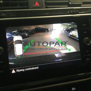 Achteruitrijcamera Skoda Octavia 2017