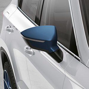 spiegelkap Seat Ateca blauw