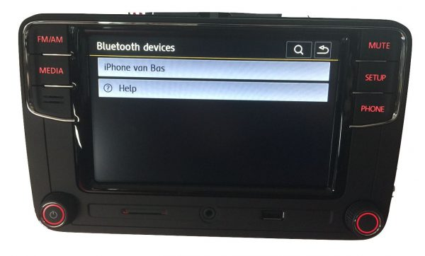 VW RCD660+ Android Auto Bluetooth Multimedia-5328