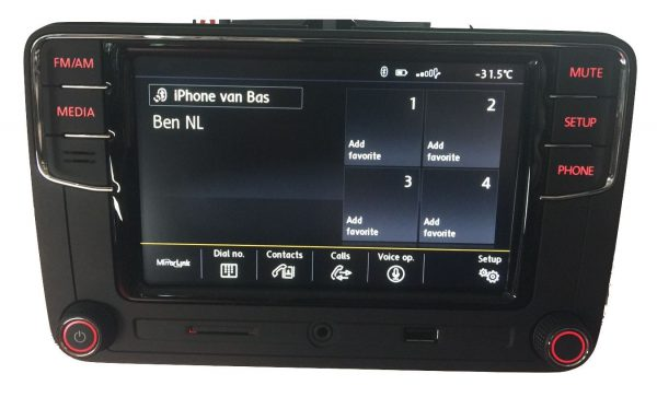 VW RCD660+ Android Auto Bluetooth Multimedia-5327