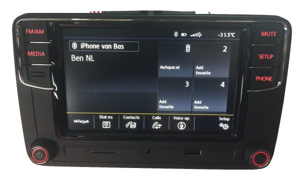 VW RCD660+ Android Auto Bluetooth Multimedia-5338