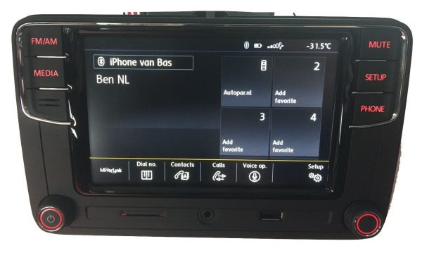 VW RCD660+ Android Auto Bluetooth Multimedia-5325
