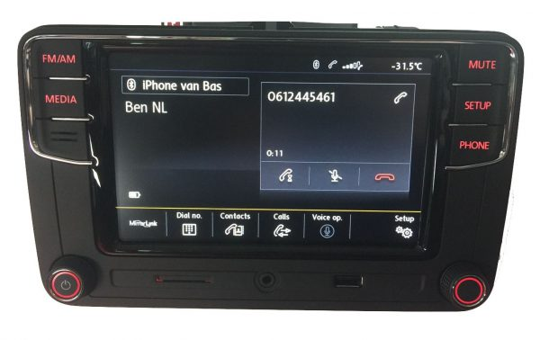 VW RCD660+ Android Auto Bluetooth Multimedia-5324