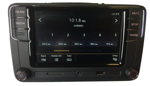 VW RCD660+ Android Auto Bluetooth Multimedia-5336