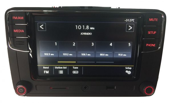 VW RCD660+ Android Auto Bluetooth Multimedia-5335
