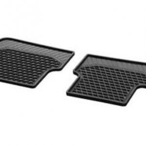 Mercedes-Benz CLA rubberen matten set achterzijde