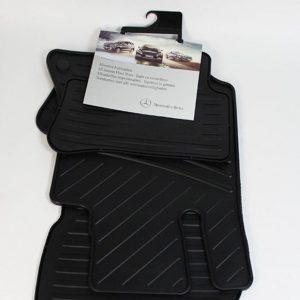 Mattenset rubber Mercedes-Benz CLS