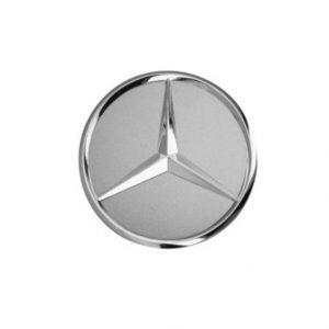 Mercedes wielnaafdop zilver