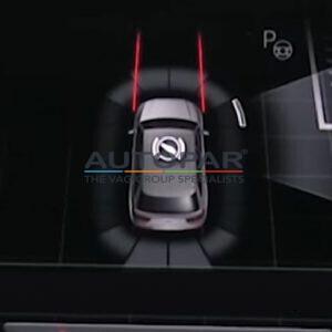 Audi Q5 inparkeerhulp afbeelding navigatie