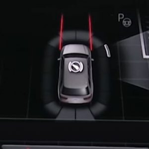 Audi Q7 inparkeerhulp afbeelding
