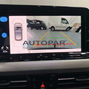 Golf 8 Achteruitrijcamera Volkswagen Golf 8 camera autopar beeld