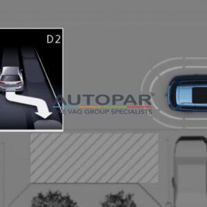 Parkeerassistent Volkswagen Golf 7.5 Parkeerassistent Park-assist sensorenset