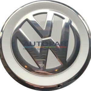 Volkswagen Up! wielnaaf kap wit/chroom