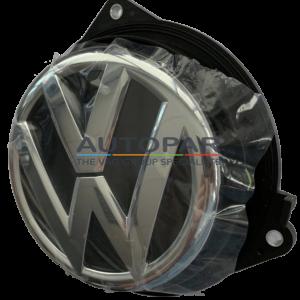 VW Golf 6 Klaplogo - achterzijde