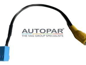 Camera adapter kabel RCD660/RCD330 MIB Gele tulp
