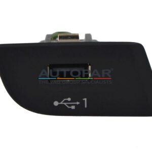 Audi USB Q2 aansluiting