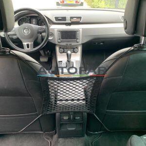 Scheidingsnet / Veiligheidsnet tussen achterbank en voorstoelen