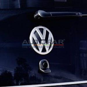 Volkswagen Up! Volkswagen logo achterklep