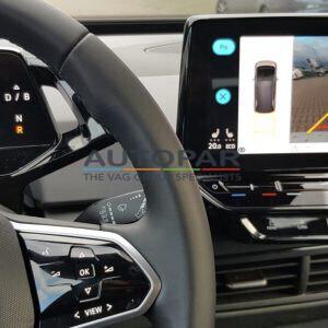 Volkswagen ID4 achteruitrijcamera autopar origineel dashboard