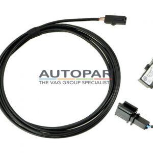 Volkswagen bedrading microfoon kabel set