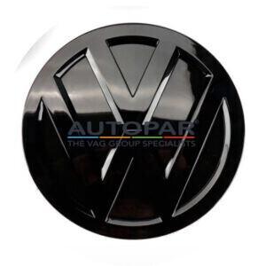 Golf 7.5 zwart logo achterzijde